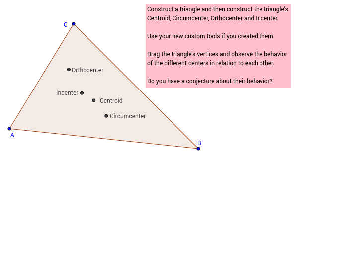 Challenge 43: The Euler Segment of a Triangle