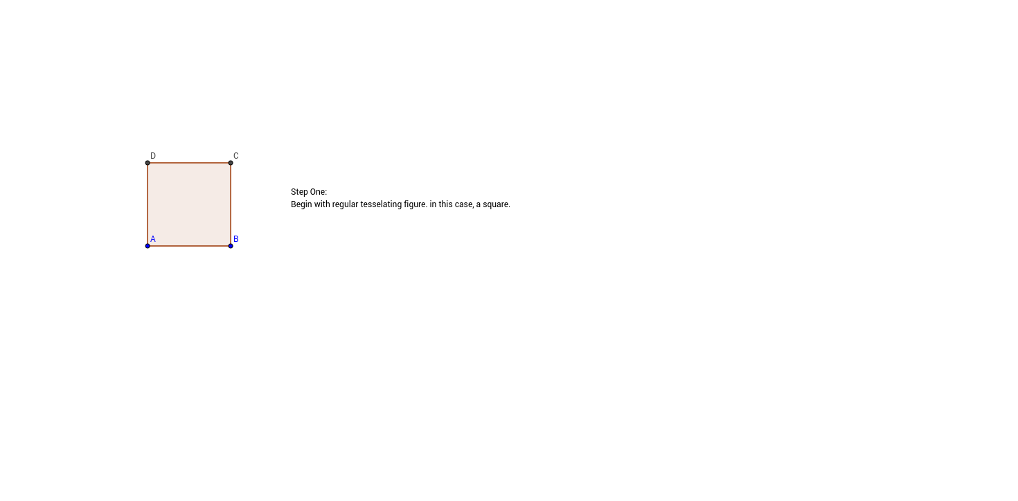 Translation Tessellation Step 1