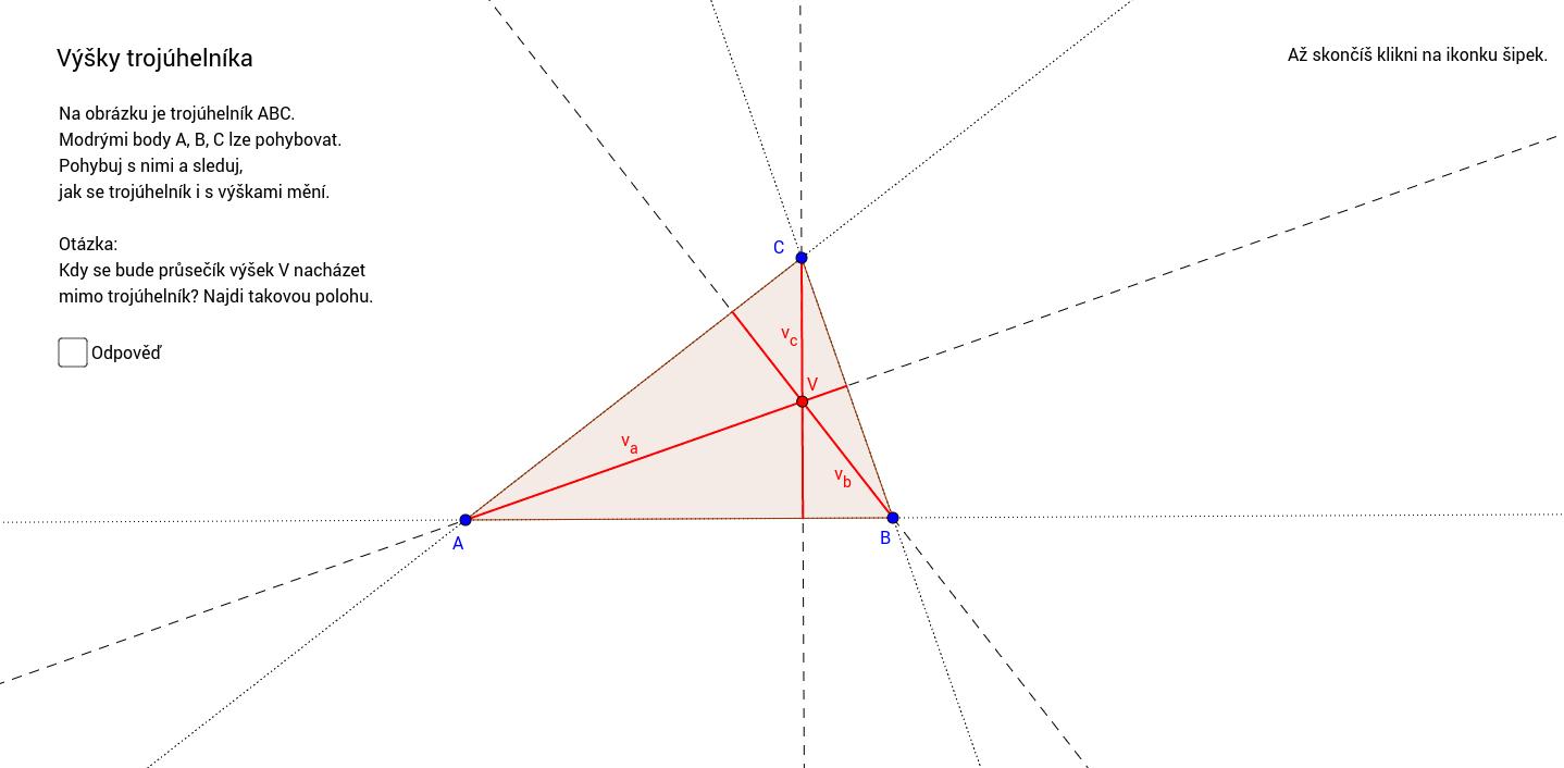 Výšky trojúhelníka