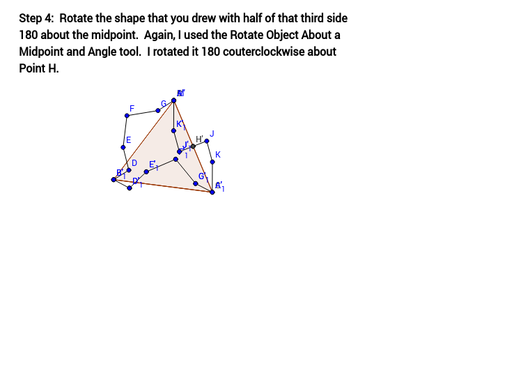 Tessellation from Triangle (Step 4)