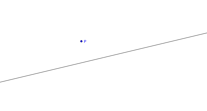 Perpendicular Line through a Point (Traditional Method)
