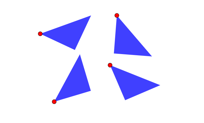 Puzle de triángulos