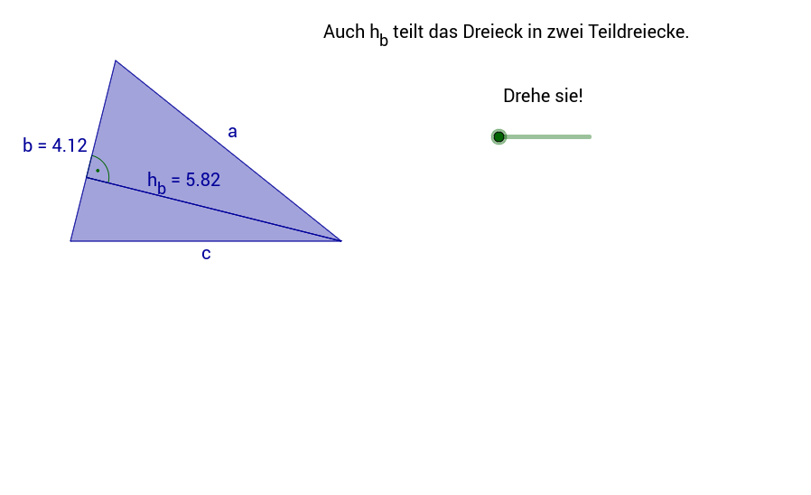 Flächeninhalt des Dreiecks 3
