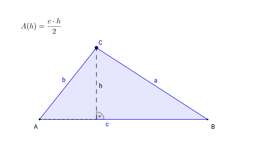 Flächeninhalt eines Dreiecks