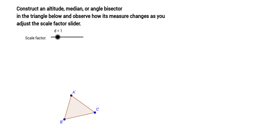 Similar triangles and special segments