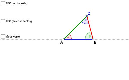 Dreiecksgrundformen