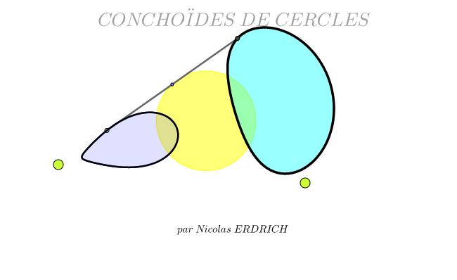 Conchoïdes de Cercles