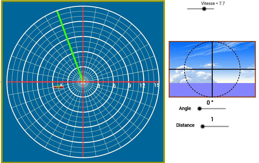 Sistema de Coordenadas Polares  (Jogo)