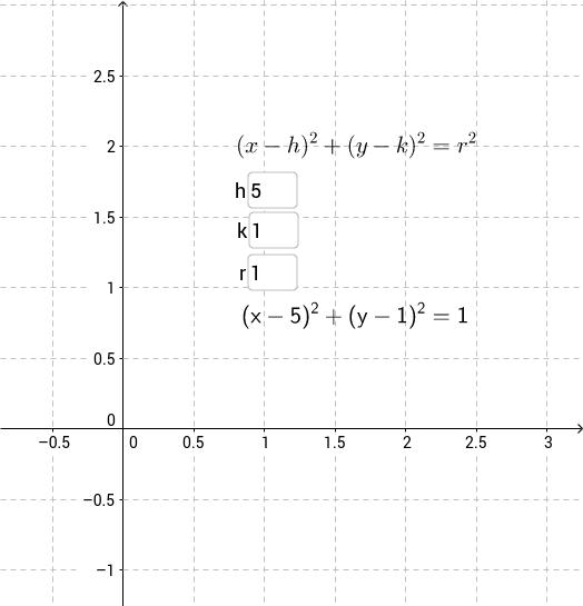 La circunferencia y su ecuación - 2