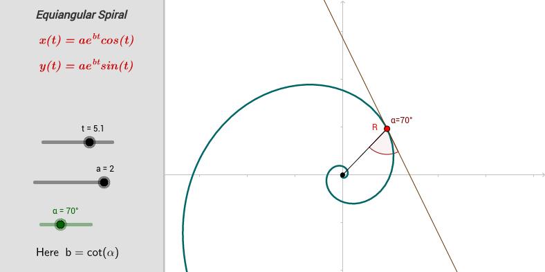 An Equiangular Spiral