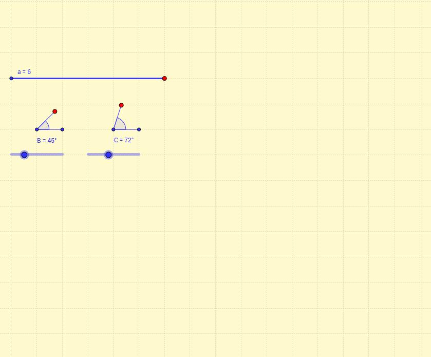 Triángulo conocidos dos ángulos y un lado