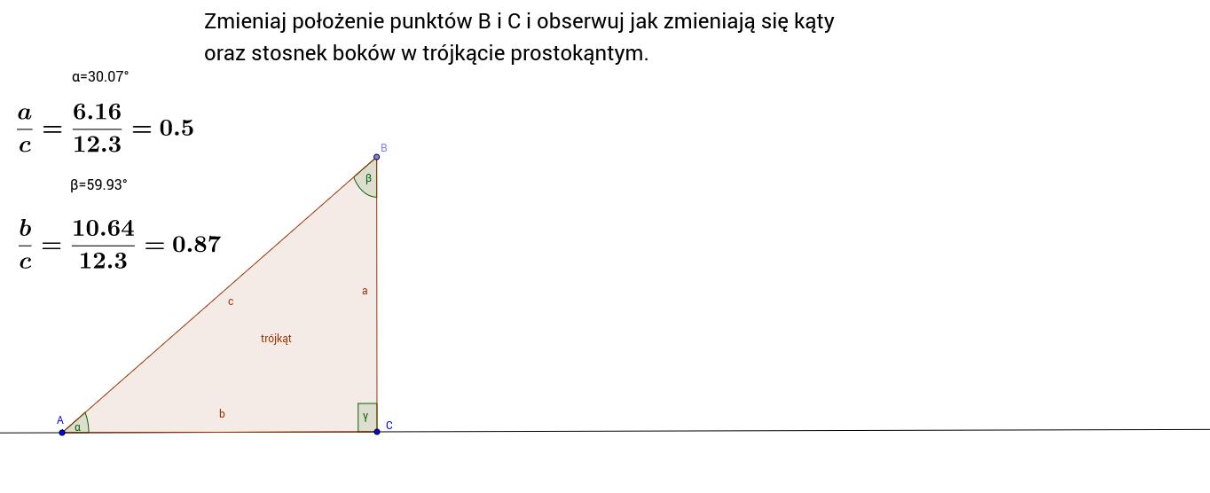 Trygonometria - wprowadzenie