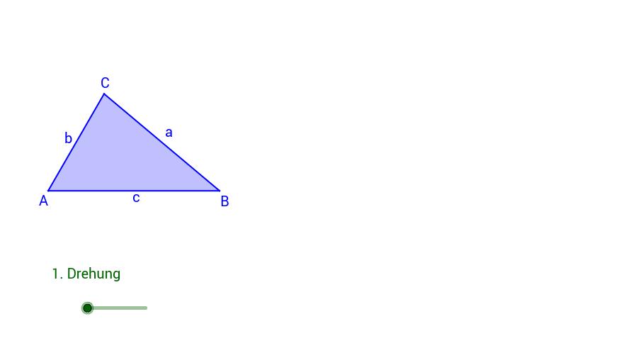 Dreiecke & besondere Punkte – GeoGebra