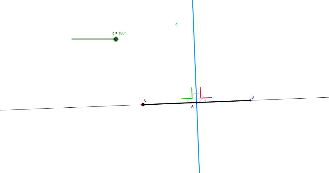 perpendicular bisector vs bisector