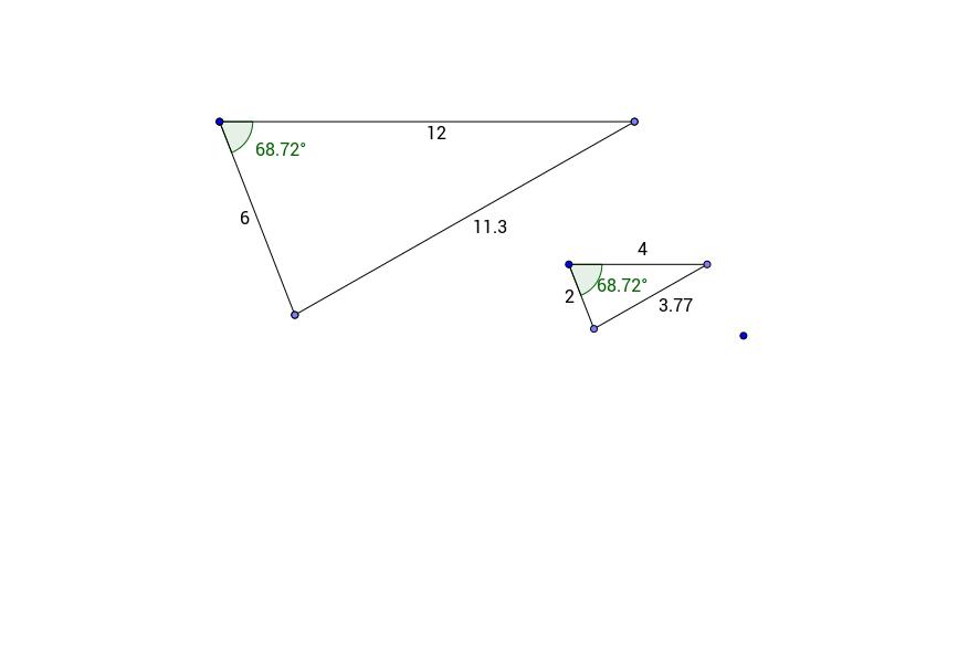 SAS Triangle Similarity Demo
