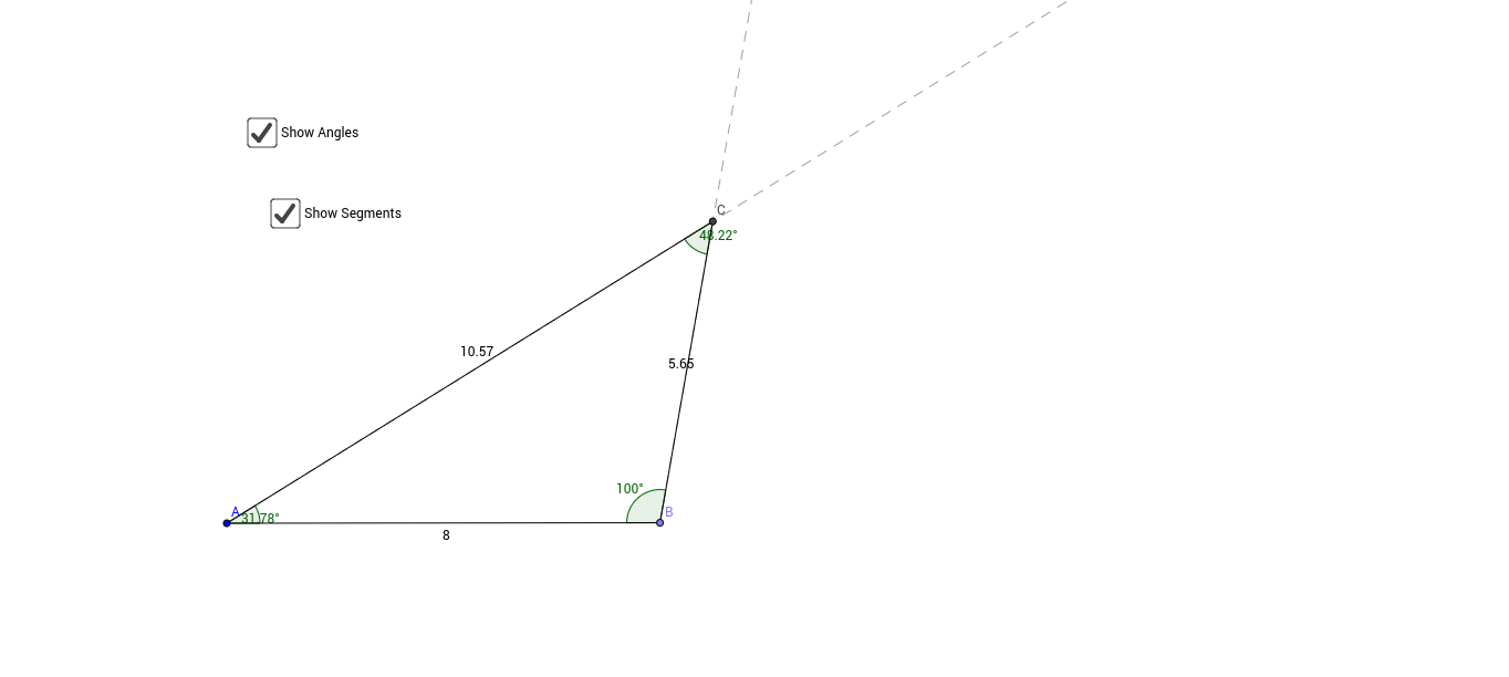 Triangle Congruence - SA