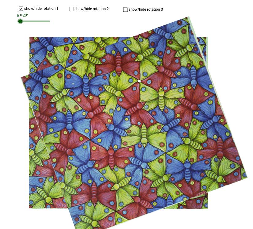 Escher Symmetry -Butterflies