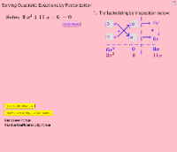 Self Assessment: Solve Quadratic Equations by Factorization