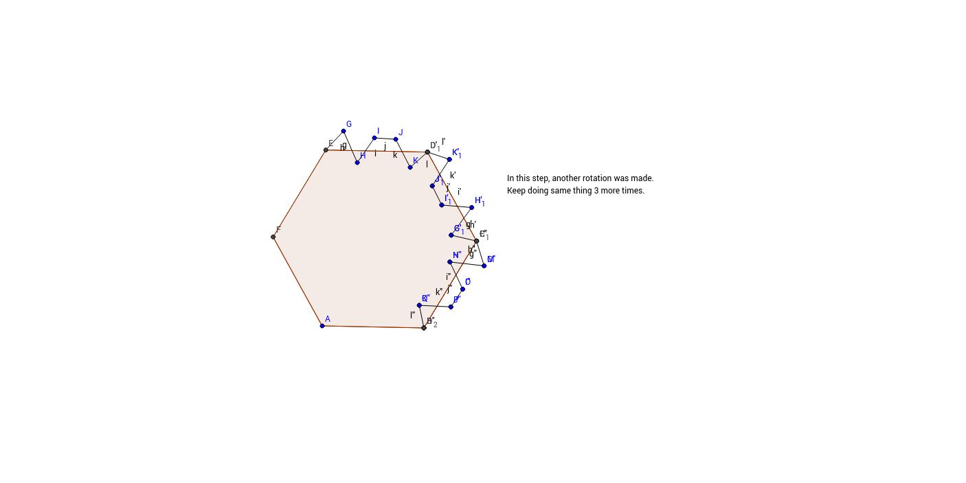 Rotation Hexagon Step3