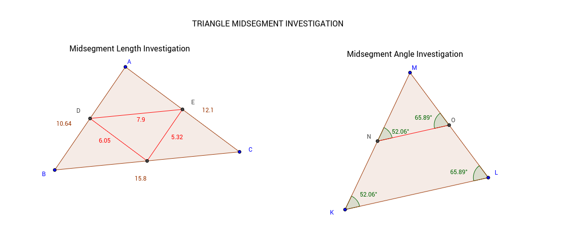 How to Math: 5.1 Midsegments in Triangles - YouTube