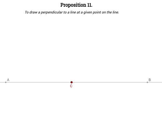Elements I: Proposition 11