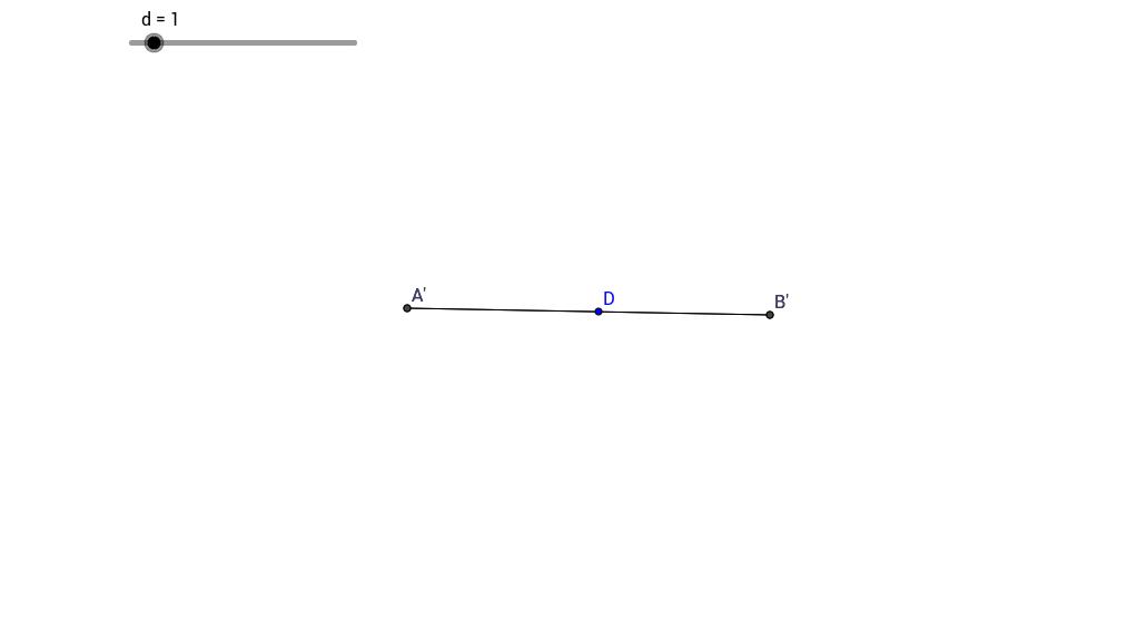 Dilation on a Line
