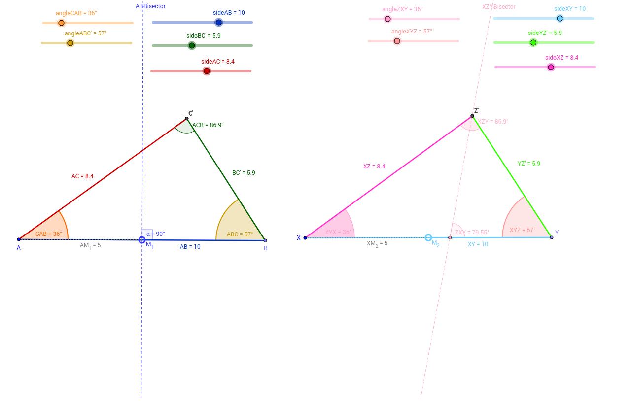 Unit 34 Congruence and Similarity GeoGebra – Congruence and Similarity Worksheet