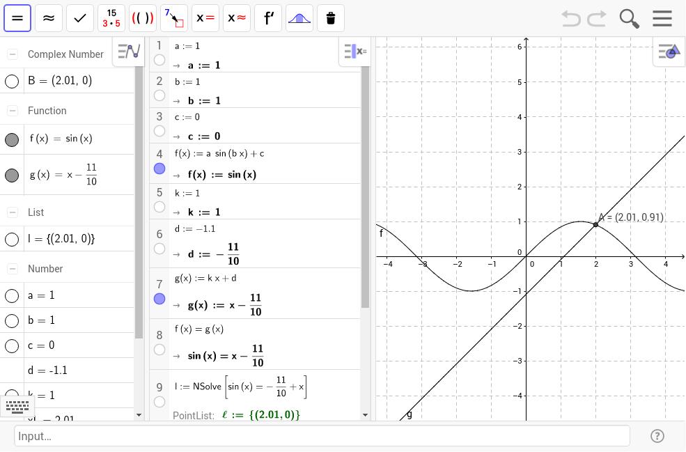 trigonometrische gleichungen l sen geogebra. Black Bedroom Furniture Sets. Home Design Ideas