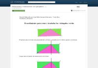 Rotaciones y traslaciones en Geogebra