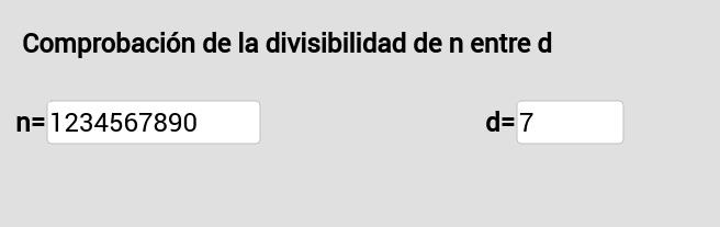 Divisibilidad