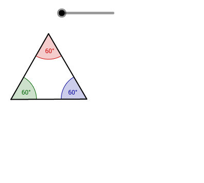 Visual Proof for Tiling by Equilateral Triangles