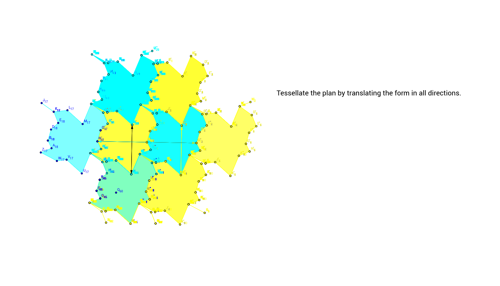 Tessellation 1 step 6