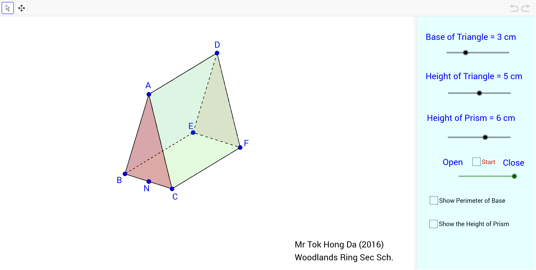 surface area of triangular prism worksheet pdf
