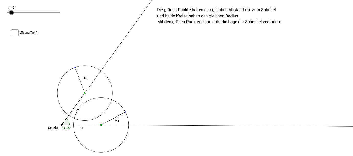 Winkelsymmetrale
