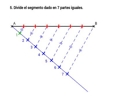 EPV3.03a.Segmentos; división en partes iguales.