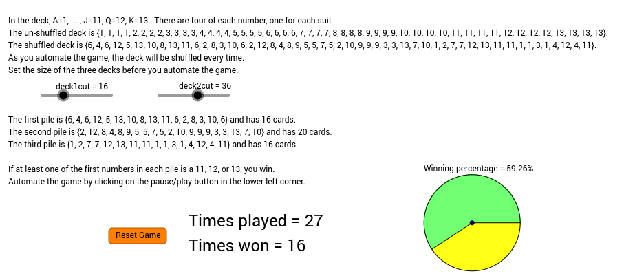 Want to bet on it? #3 SIMULATION From Brilliant.org