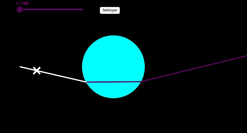 Diffraction de la lumière dans une goutte d'eau