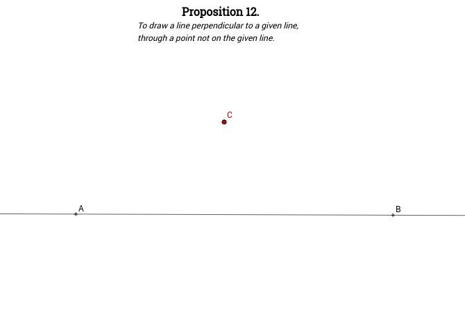 Elements I: Proposition 12