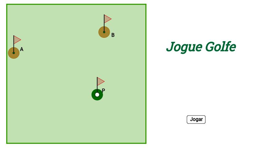 Jogue Golfe - Soma de Vetores