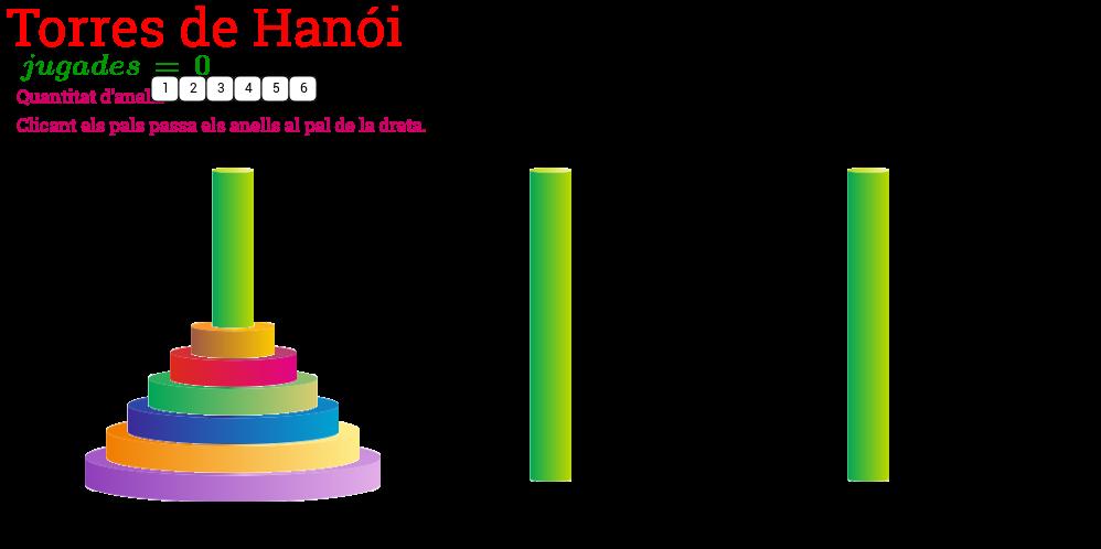 Les torres de Hanói