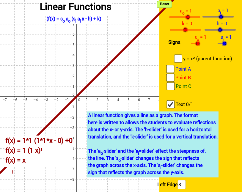 General Linear Equation
