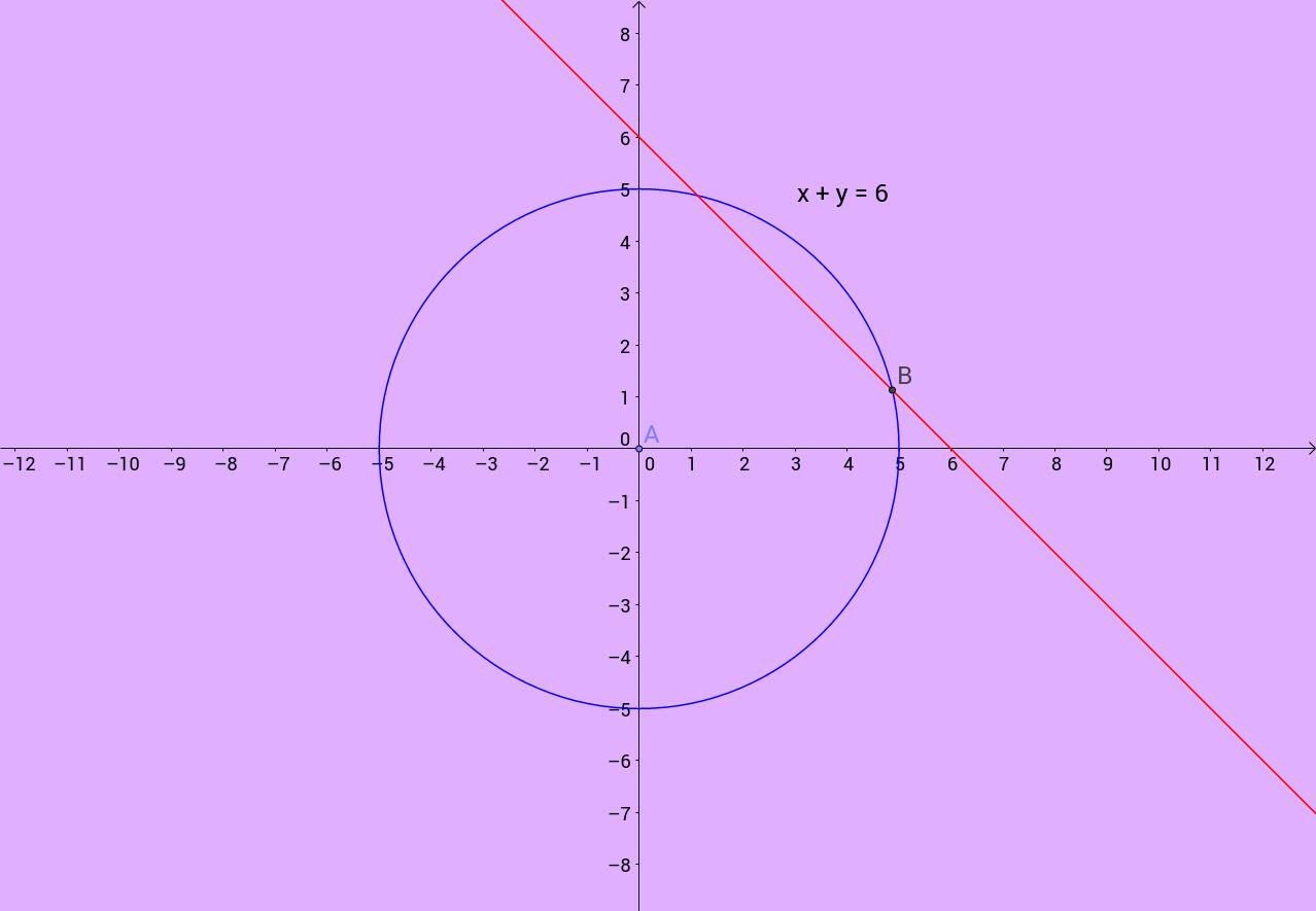 رسم مثلث قائم الزاویه با معلوم بودن وتر و مجموع دوضلع دیگر