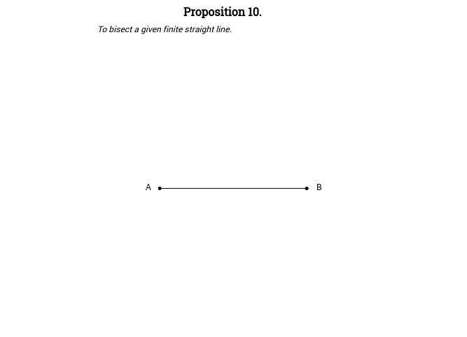 Elements I: Proposition 10