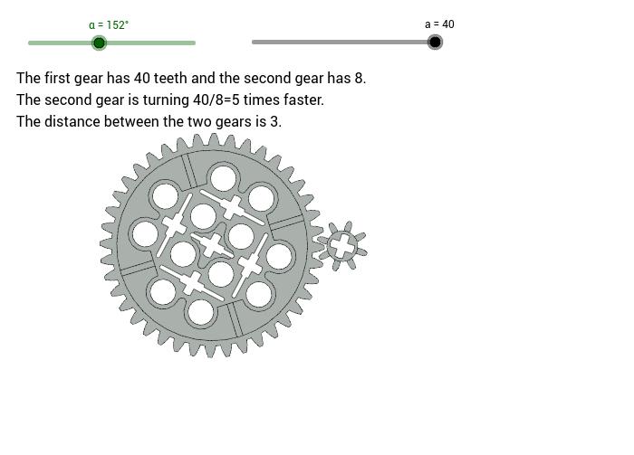 Gearing up GeoGebra – Gear Ratio Worksheet