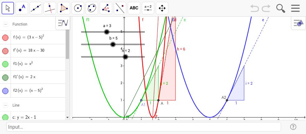 1314 Unterricht Mathematik 10e - Differentialrechnung