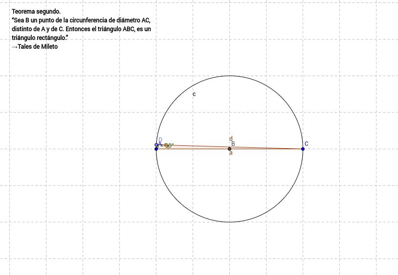 Teorema de Tales II