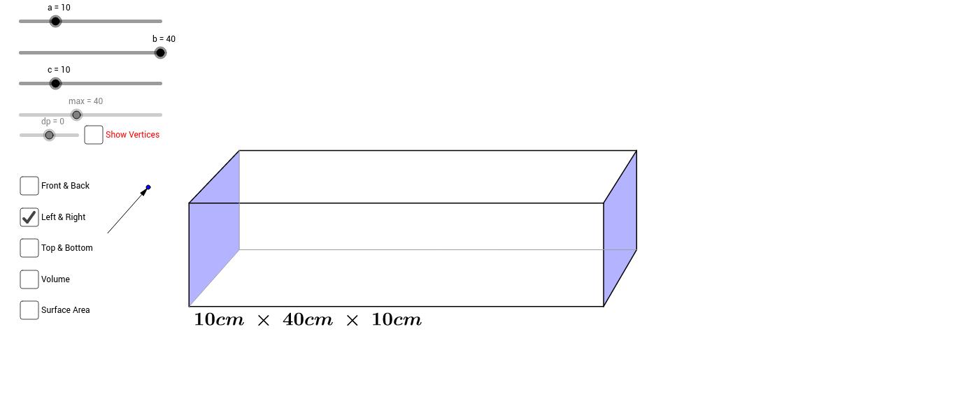 Custom Cuboid