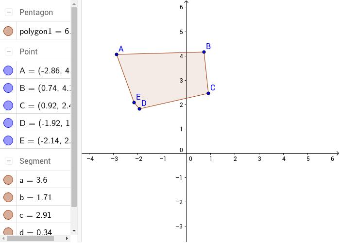 drawing a polygon