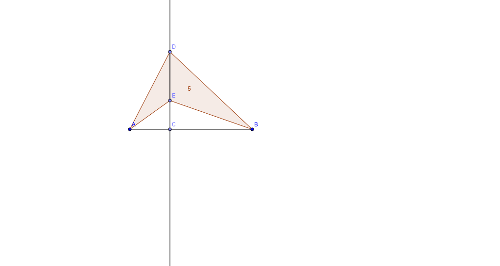 Triangles with Constant Height Extension