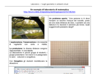 Un esempio di laboratorio di matematica (teorema di Erone)